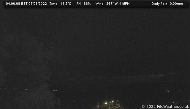 Lochgelly, Fife, Southern Scotland - Webcam Image